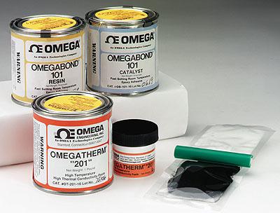 OB-100,OB-101,OB-200,OT-200,OT-201导热胶 美国omega高温导热胶 高温导热硅脂