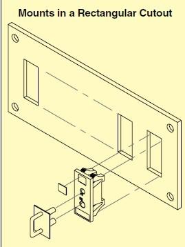 SJP標準的連接器面板
