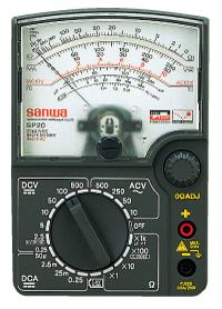 SP20指针式万用表|日本三和Sanwa模拟式万用表SP-20