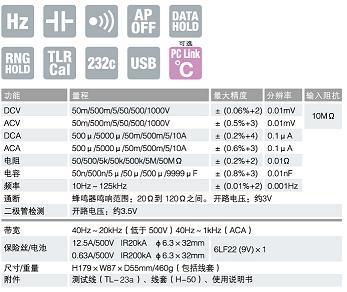 PC500a数字万用表|日本三和Ssanwa数字万用表