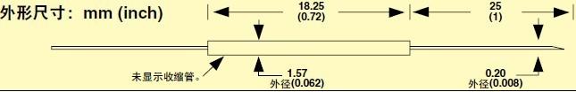 HYP0 omega注射器針頭熱電偶探頭
