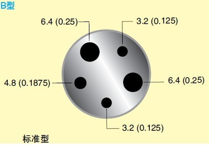 CL1000系列熱電偶探頭校準器_B形探頭插孔