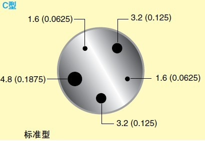 CL1000系列熱電偶探頭校準器_c形探頭插孔