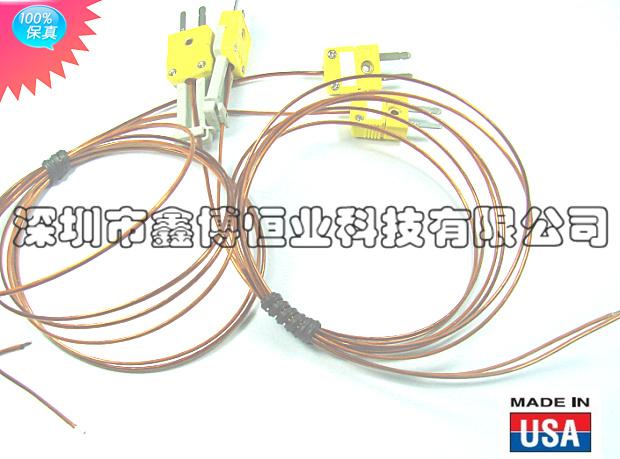 omega熱電偶線 KK-K-24-SLE-1000 K型熱電偶線 加工成品