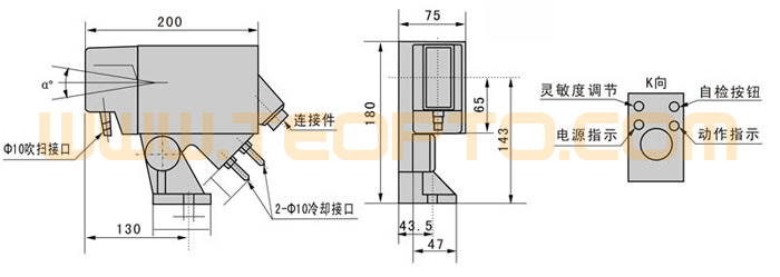 HMD5型热金属检测器