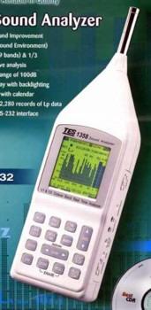 1/1及1/3八音度实时音频分析仪,TES-1358
