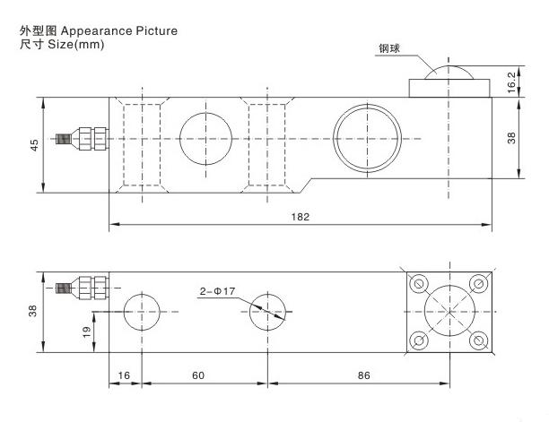 悬臂梁称重传感器,TAS-5C称重传感器