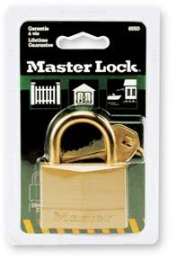普通铜安全挂锁