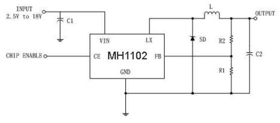 dc dc降压转换器电路图