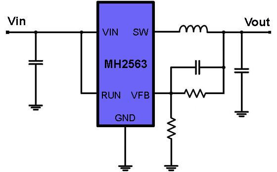 dc dc电压调整器ic