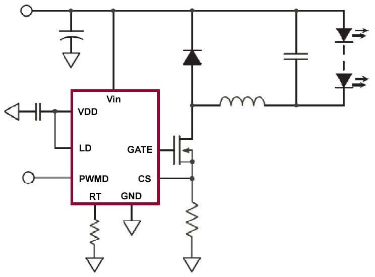 高压LED驱动电路图