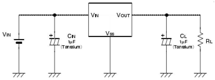 3.3V稳压电路