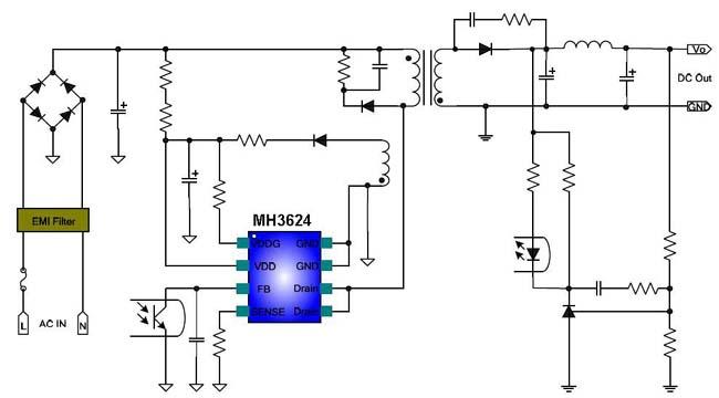 PWM控制器电路图