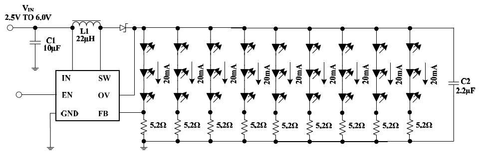 LED背光电路图
