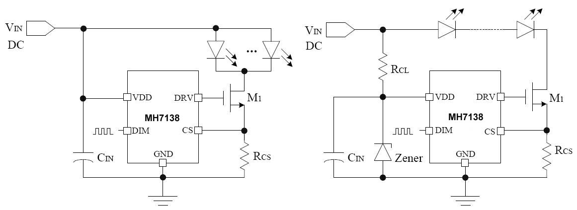 LED线性降压恒流