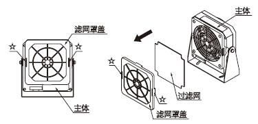 更换用滤网 ER-F12×5