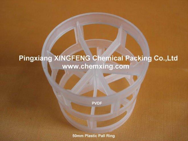 PVDF 50mm Pall Ring