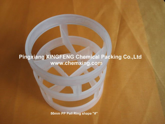 # shape plastic pall ring size 50mm