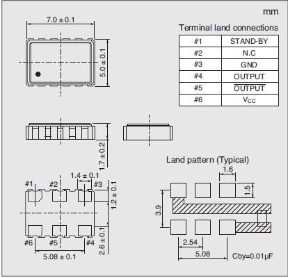 7311S-DG-104P Dimensions