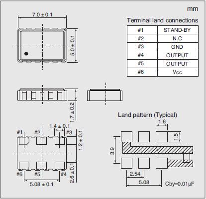 7311S-GG-505X Dimensions