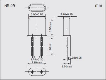 NR-2B Dimensions