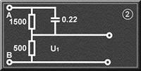 接觸電流測試人體測量網絡U1