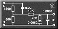 接觸電流測試人體測量網絡U3