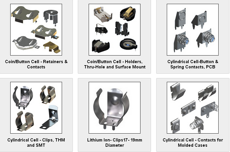 上海电池弹片厂家批发供应KEYSTONE电池弹片021-51695928