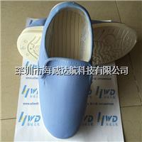 浅蓝色防静电实面鞋