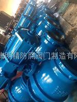 氣動固定球閥 氣動法蘭球閥 廠內實拍圖片