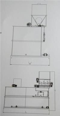 石灰自動投加系統加藥裝置 QPL3-1000