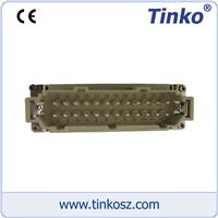 熱流道溫控配件-24芯公插 熱流道溫控配件-24芯公芯插座