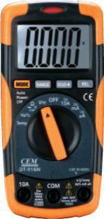 DT-916N小型雙注塑數字萬用表 DT-916N