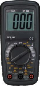 DT-920小型双注塑数字万用表 DT-920