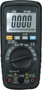 DT-932小型雙注塑數字萬用表 DT-932