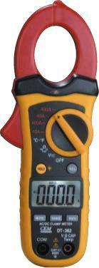 DT-363小型双注塑自动量程交/直流钳型表 DT-363