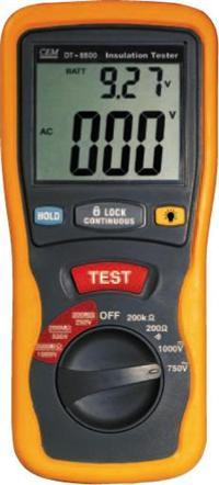 DT-5500专业数字绝缘表 DT-5500