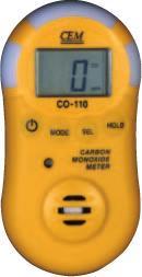 CO-110一氧化碳测试仪,气体泄露探测器 CO-110
