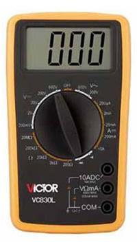 VC830L(3?1/2位)数字万用表 VC830L