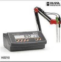 HI2210实验室pH/温度测定仪 HI2210