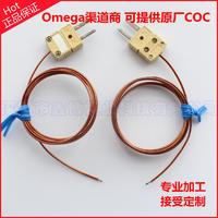 KK-K-24-SLE聚酰亞胺熱電偶線+HMPW-K-M高溫插頭+焊點=鑫博組裝