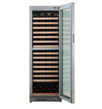 双温区独立式不锈钢酒柜