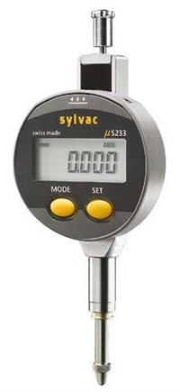 SYLVAC S_Dial S233 数显百分表 5mm 0.01mm 905.4140