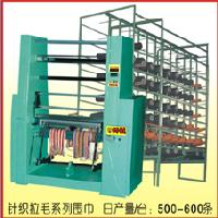 900-2000型 高速数控双针床经编围巾机