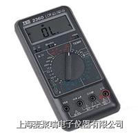 TES-2360 LCR 数字式电表