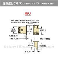 J型热电偶面板插座