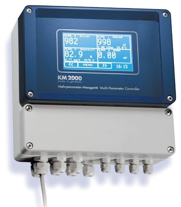 德国多参数水质分析仪(电极法)-在线用