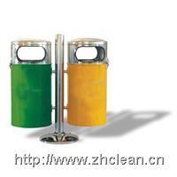 双桶吊式金属果皮桶 205
