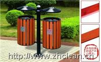 分类环保垃圾桶(山樟木) GPX-95