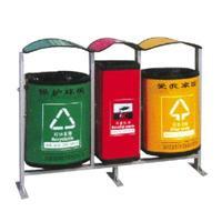 三个一体分类垃圾桶